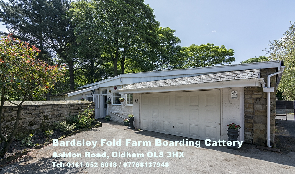 Welcome to Bardsley Fold Farm cattery